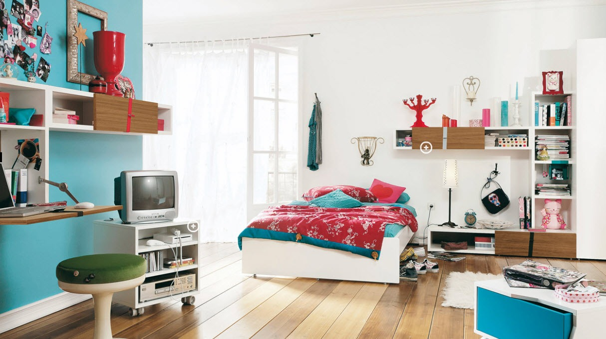 Now, determine if you want new furniture. And what color/material it should be. Wood is generally the best option, and depending on the color you've chosen, it can either be black, white, or tan.