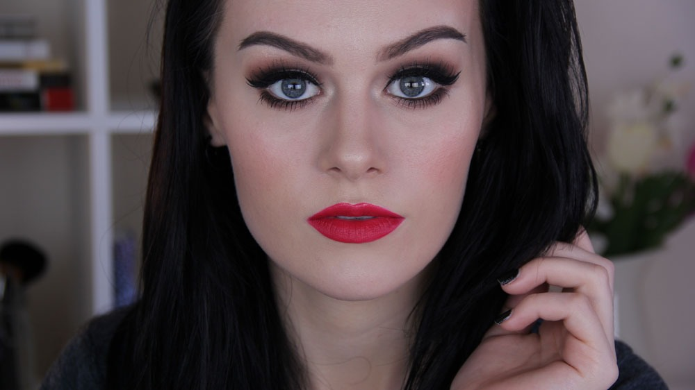 For a more affordable option, check out Elf's matte lip color in Rich Red! It's only $3 and their website (www.eyeslipsface.com) has sales all the time, up to 50% off! 💋