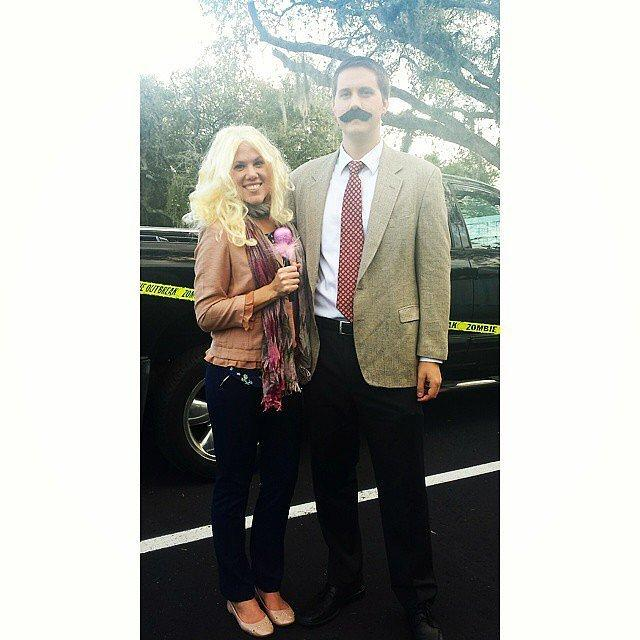 Veronica Corningstone and Ron Burgundy From Anchorman