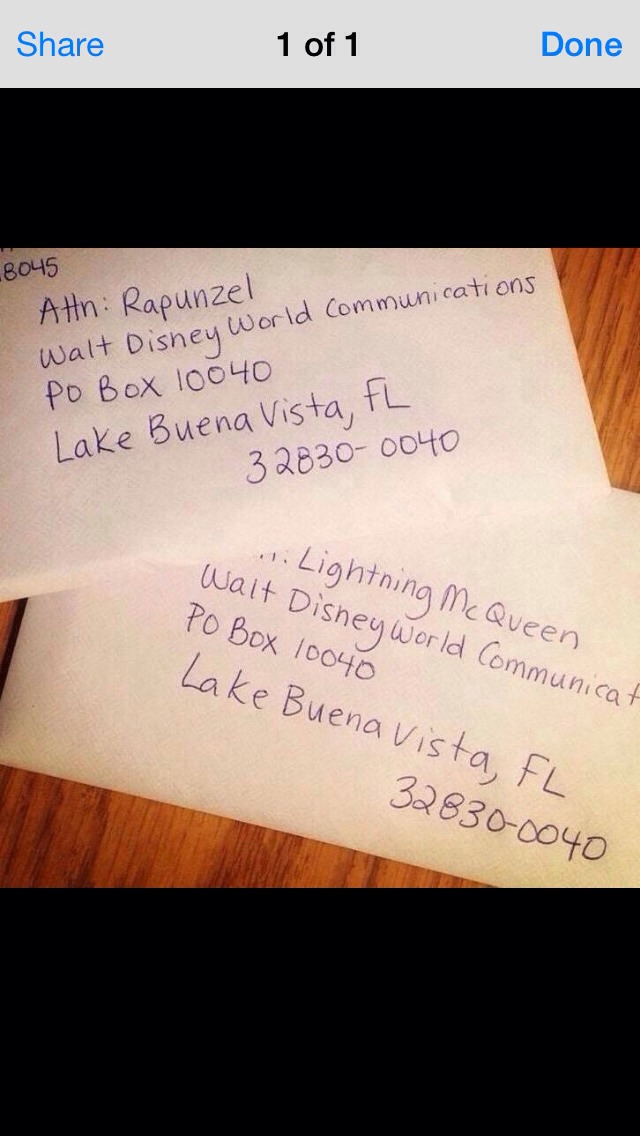 Write a letter to your favourite Princess with this address to receive a FREE signed photograph of them!