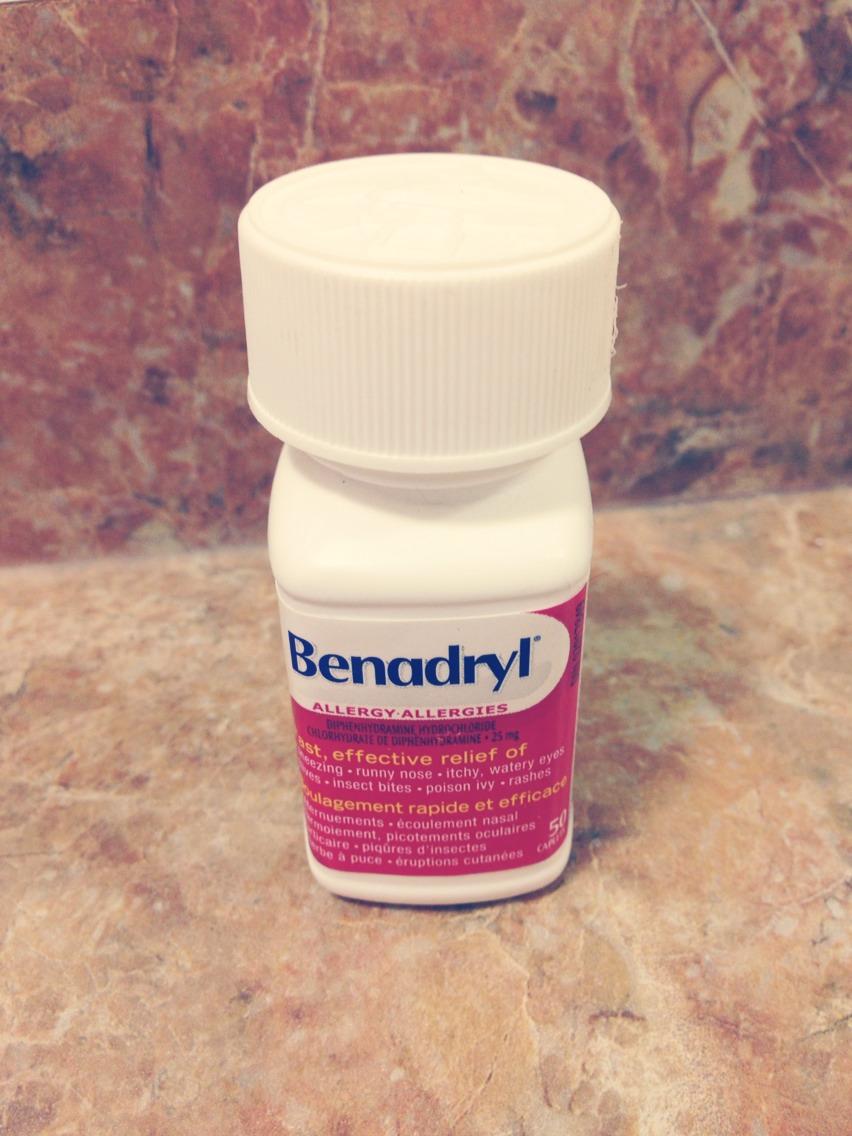 clonazepam benadryl interaction