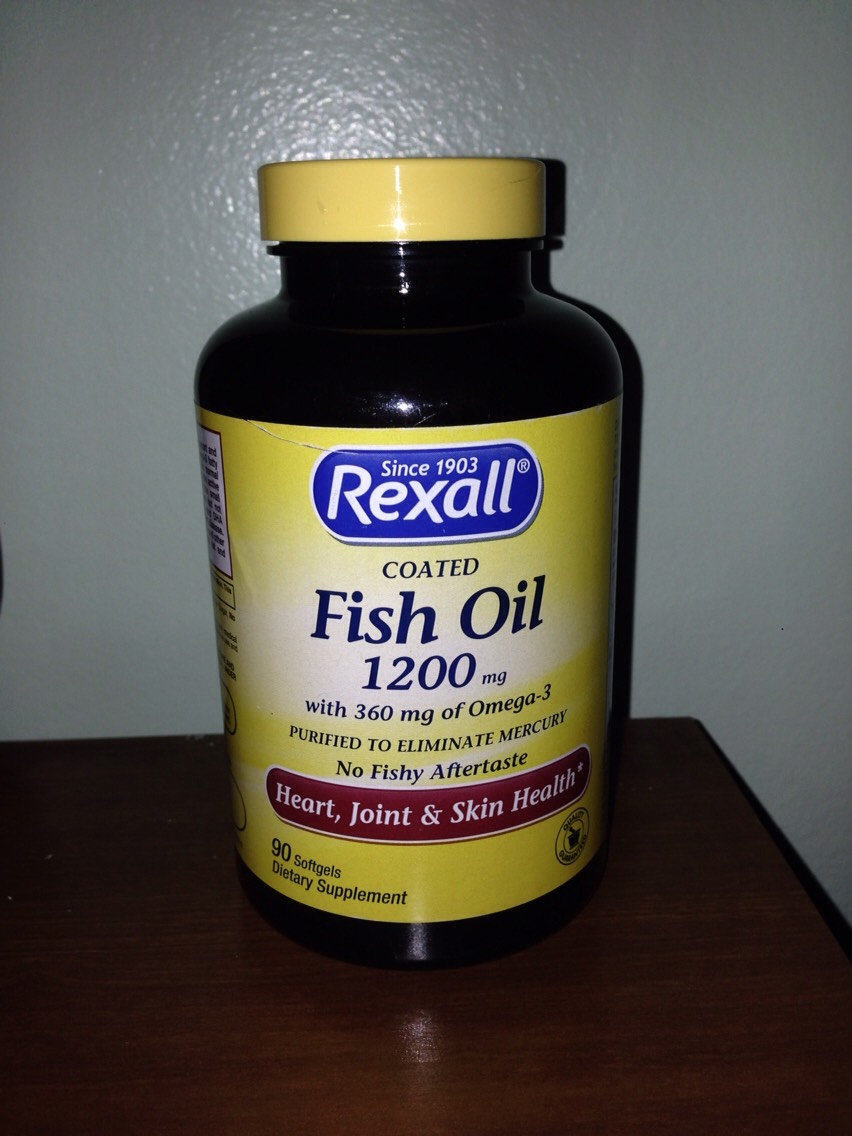 I shall warn you! The fish oil has a strong smell! It wi smell like fish, so try avoiding in getting contact with your clothes, wear something that's old & everytime you do it wear the same thing!