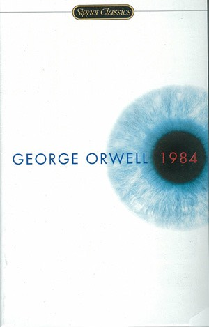#4) 1984 by George Orwell  This book is about the life of a guy named Wilson. He lives in a dystopian society where the government watches every move. But Wilson has a secret. He has a corner where the government cannot see anything.