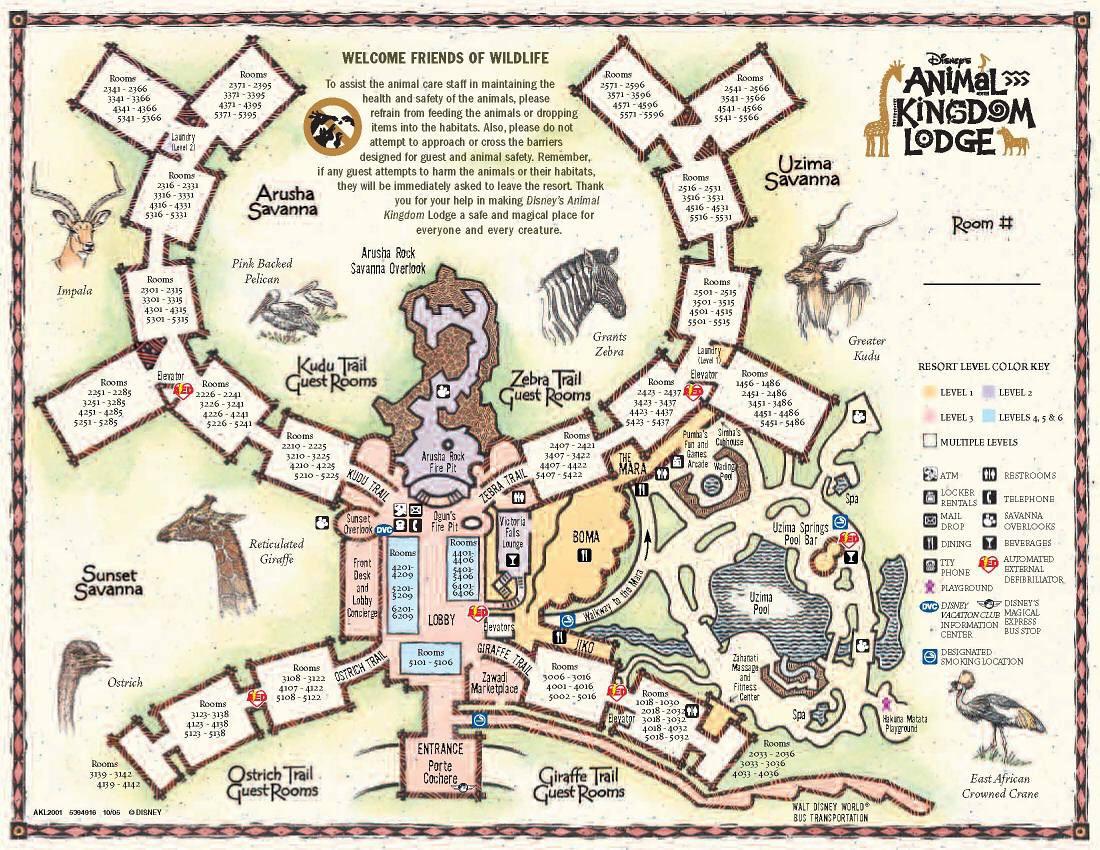 Disney's animal Kingdom Lodge resort