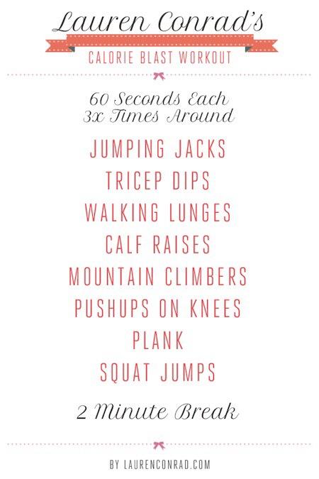 Calorie Blast workout *Extra workout