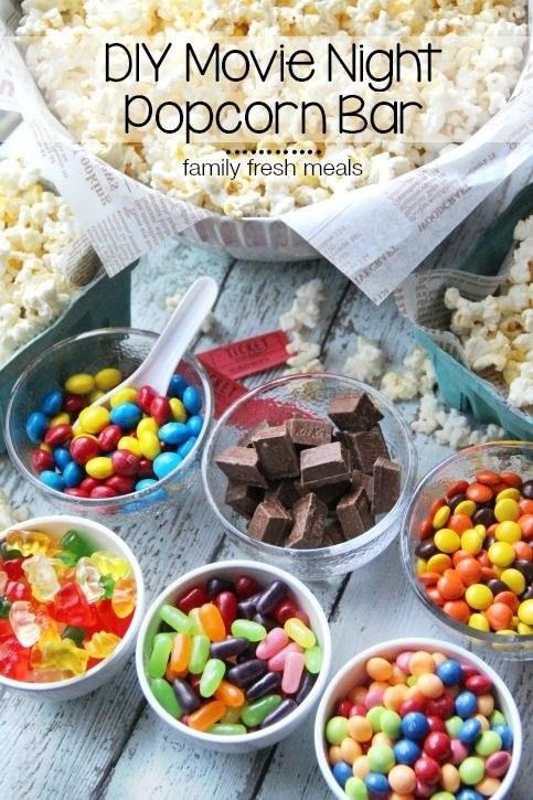 17. Of course, every movie needs a popcorn bar.