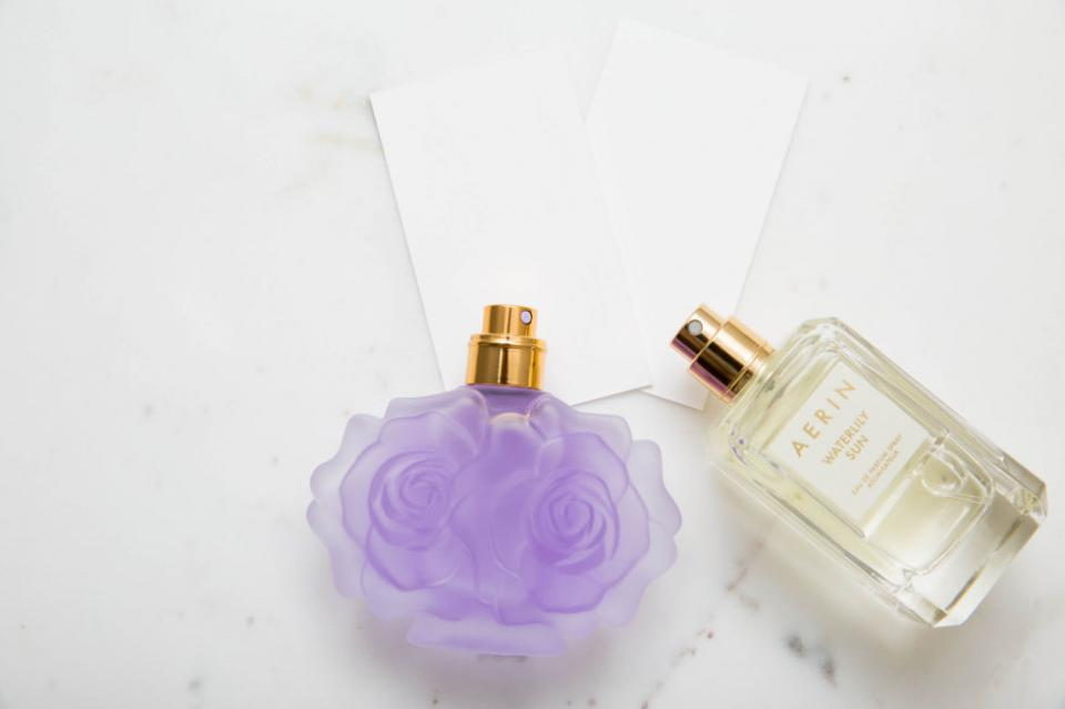 12. Create your own custom scent by layering fragrances.