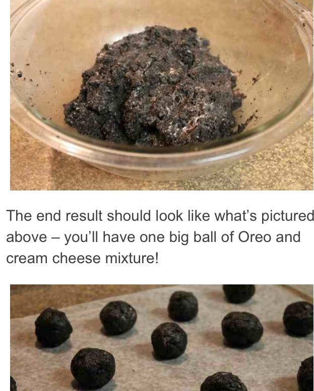 Form mixture into balls