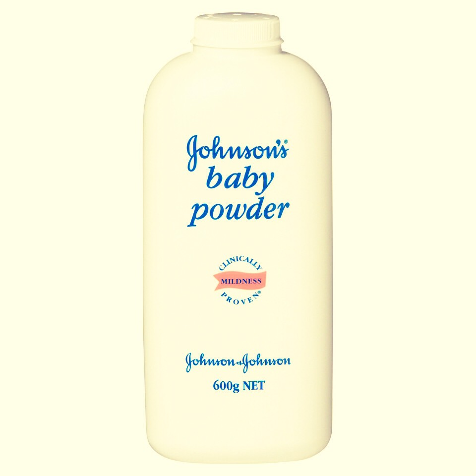 The next thing you need is baby powder.