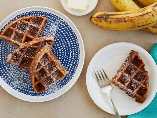 11. Waffled Banana Bread