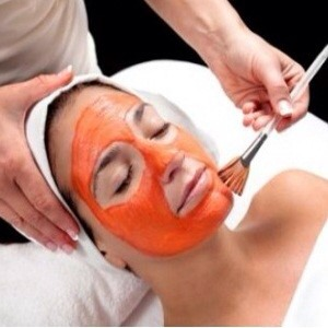 Take slice tomato piece and tomato pulp, rub on your face and neck area, leave for 15 minutes, wash off with normal water. It will give clear and glow skin.