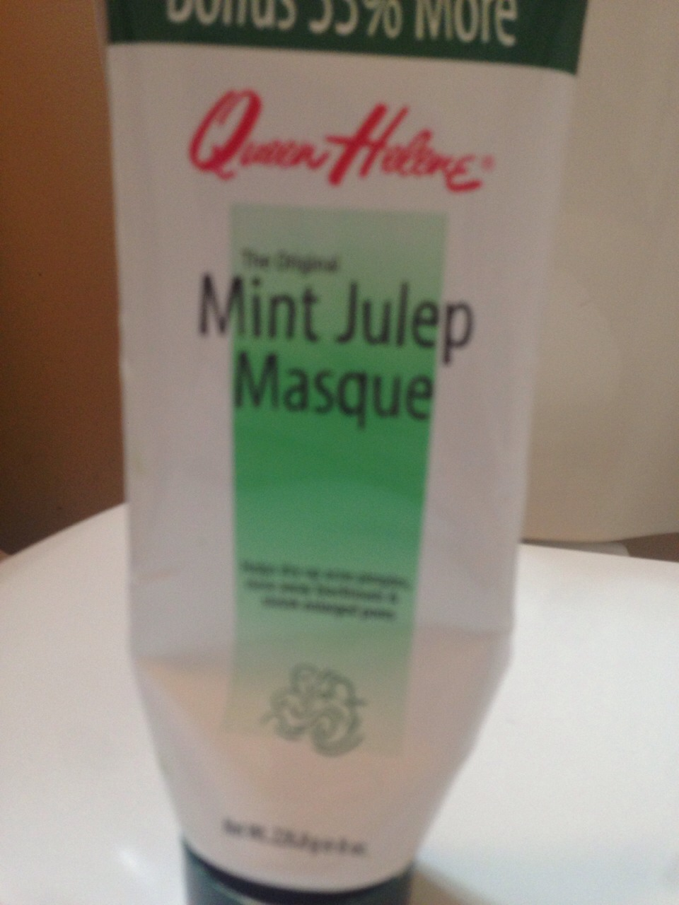 This face masque is THE BEST!! It dries out acne and makes enlarged pores smaller. I use 2 sometimes 3 times a week depending on how my skin is. I use after I wash my have and used my face scrub.