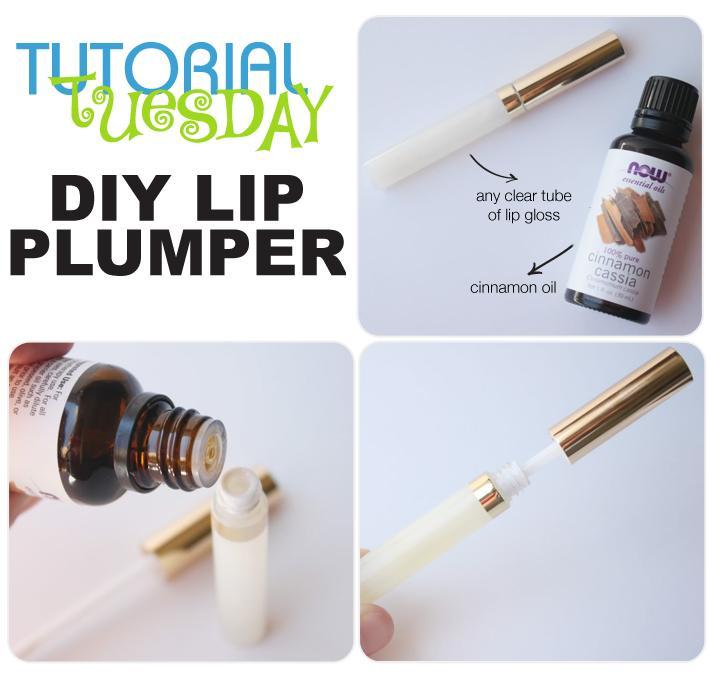 Trick #4: DIY Lip Plumper