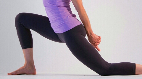 Psoas Major Strech once a day will help elongate the muscle which will then relieve chronic aches and pains