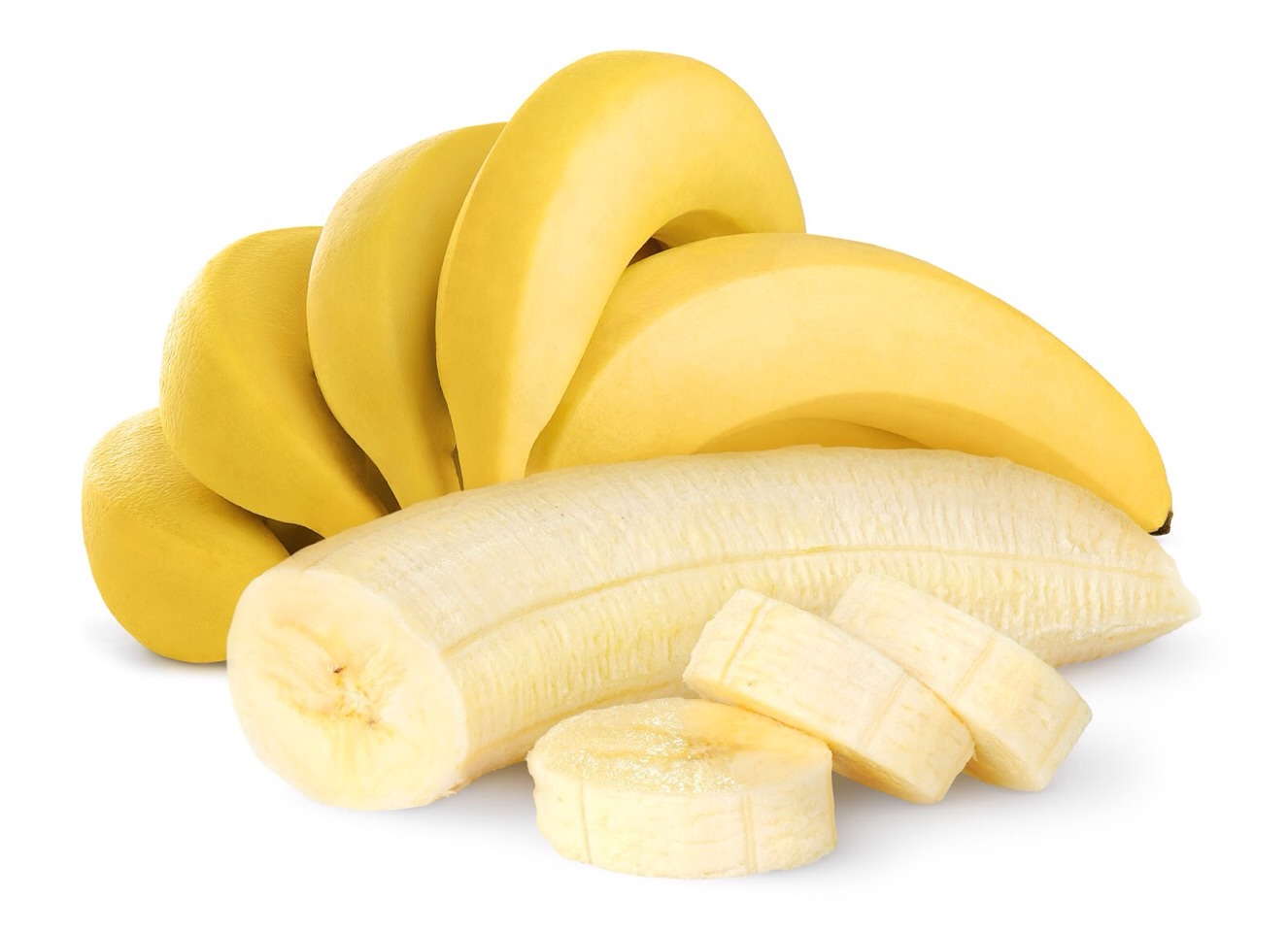 1. 	Bananas help overcome depression due high levels of tryptophan,  	which is converted into serotonin -- the happy-mood brain  	neurotransmitter 2. 	Eat two bananas before a strenuous workout to pack an energy punch  	and sustain your blood sugar