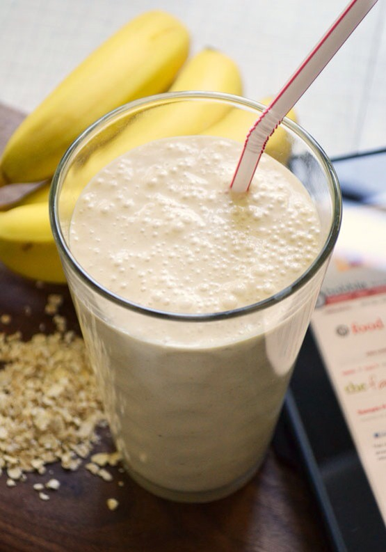 Healthy Smoothie  Making a smoothie allows you to quickly and easily make something with whatever ingredients you have on hand. And since one of the most important considerations when choosing a pre-workout snack is finding something that will sit well with you.