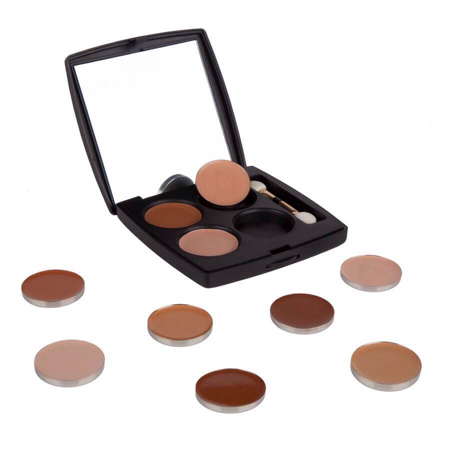 With an interchangeable and magnetic palette and go pods, this palette allows you to create your own selection of four shades. Talk about convenience!  Coastal Scents Concealer Pods, $1.95, Coastal Scents