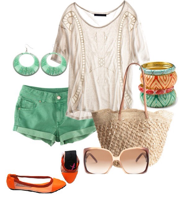 Even comfy clothes are usually cute and summery