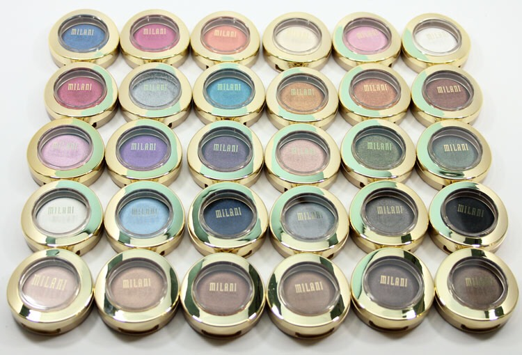 Eyeshadow:  Brand: Milani Name: just Milani single eyeshadows  Milani provides well pigmented eyeshadows as well as cute blushes! They are one of my favorite makeup brands. One of thier single eyeshadows called bella cappuchino is a great alternative to the naked palette by urban decay