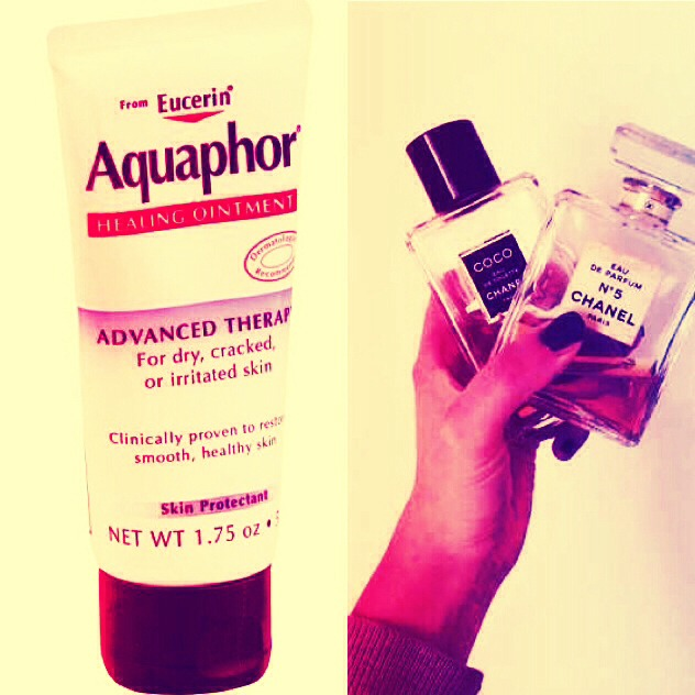 Simply apply Vaseline or Aquaphor to your skin before spritzing perfume to keep it lasting  longer!