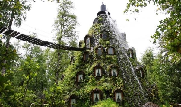 Hotel La Montana Magica, Hulio, Chile