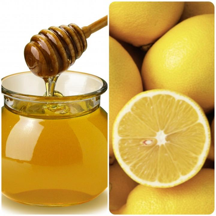 mix 1 tbs of honey, 1/2 cup of ground oatmeal and a few drops of lemon juice together.  Apply the paste like a mask. leave for about 15 min and rinse off.