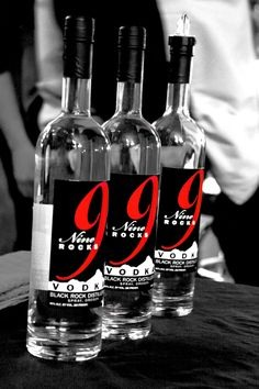9 Rocks Vodka has been distilled 3x! Making it a very good good quality pure vodka but check this--it's 100% Gluten Free: GLUTEN IS THE PRIMARY COMPONENT OF ANY ALCOHOL THAT MAKES YOU HAVE HANGOVERS, so basically this Vodka is actually free of possibility to give you a hangover!!!!! NICE RIGHT?? lol