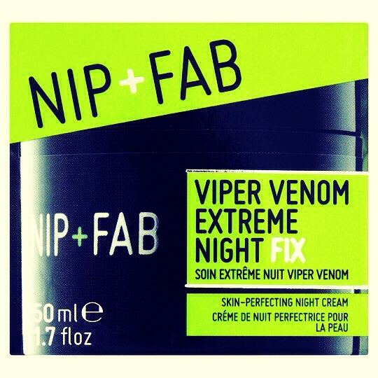 Nip and fab overnight creme smells good and is easy to put on just put a small amount on your fingers then put around your cheeks and neck and even around the wrinkles by your eyes! I saw a difference in my skin overnight:)