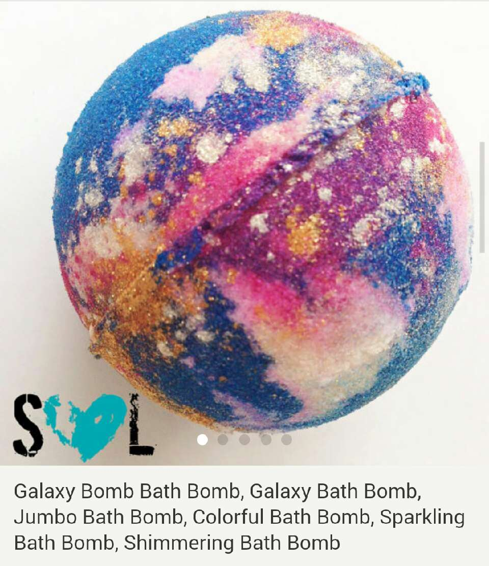 eat lush galaxy bathbombs - 570×570