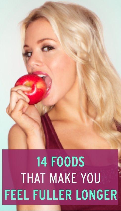 """The key to feeling fuller longer is to eat volume dense foods rather than calorie dense foods,"""