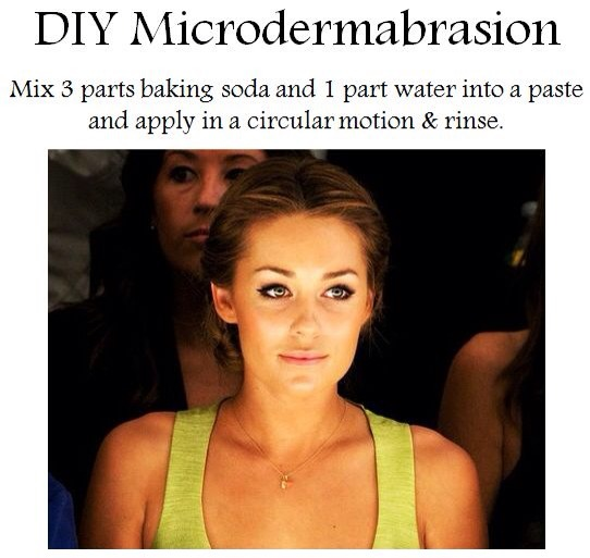 DIY microdermabrasion: simple, effective and CHEAP!