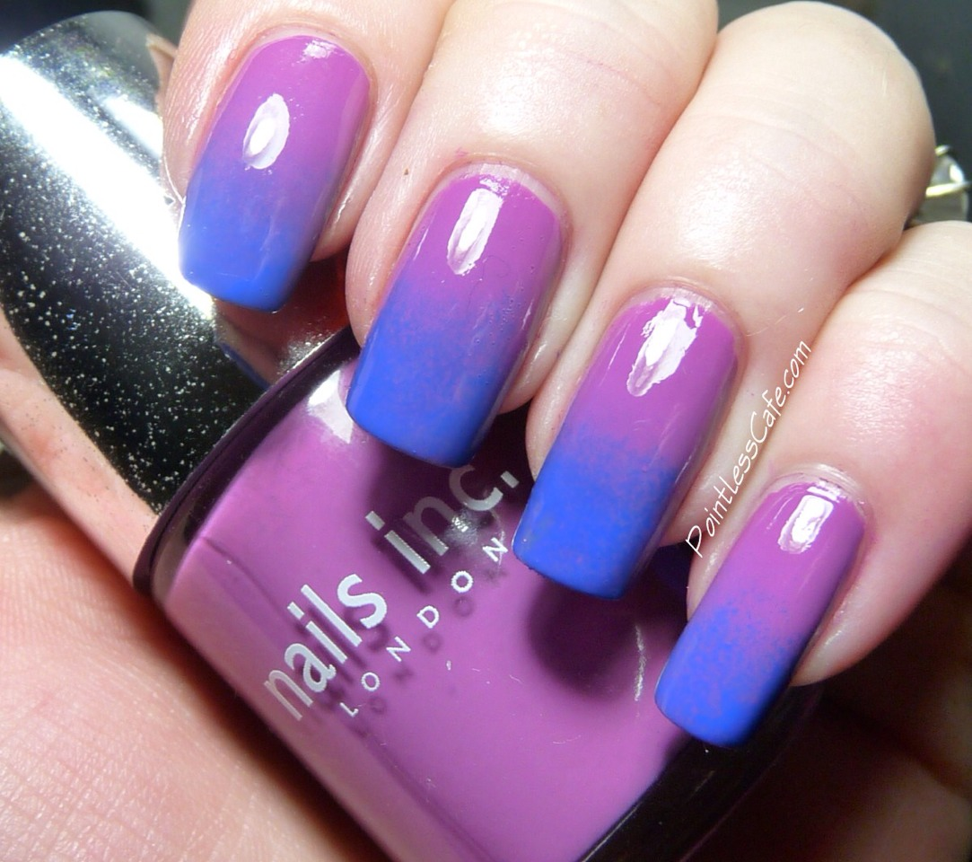 Paint towards your cuticle first! Then stroke upwards towards the end of the nail, this will avoid getting paint on your cuticles!