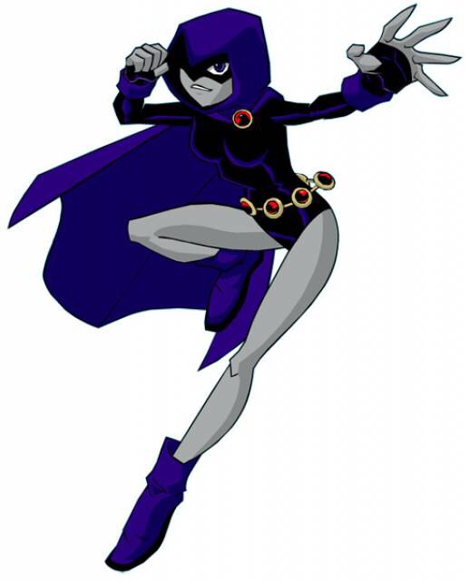 Raven from teen titans is easy and fast to make