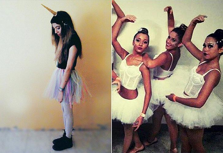 Costumes: Unicorn, ballerina  Tutu Dress-Up Skirt ($1) http://www.dollartree.com/catalog/product.jsp?productId=340355&green=2ddcd000-618d-336ca5-af22-0974d064892c