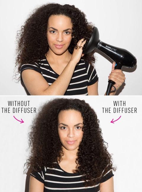 Diffuser On Natural Hair C