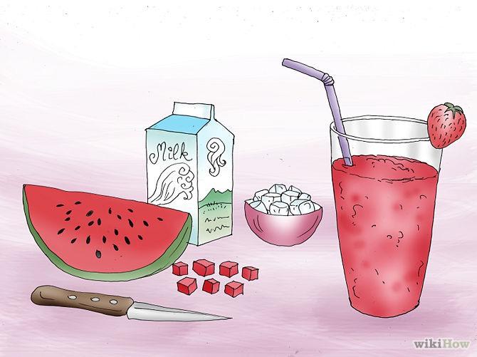 Drinks •water •green tea •apple juice  •smoothies (no added sugar)