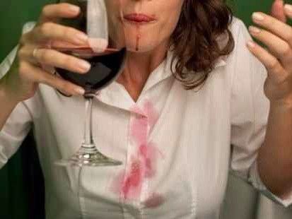 Yeah, you read that correctly. When you're at a party and you accidentally spill some red wine on your blouse, immediately pour white wine over the stain and let it air-dry. The white neutralizes the red, making it easier to take out the stain.