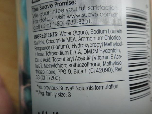 2. Steer clear of shampoos with ammonium lauryl sulfate or sodium lauryl sulfate.