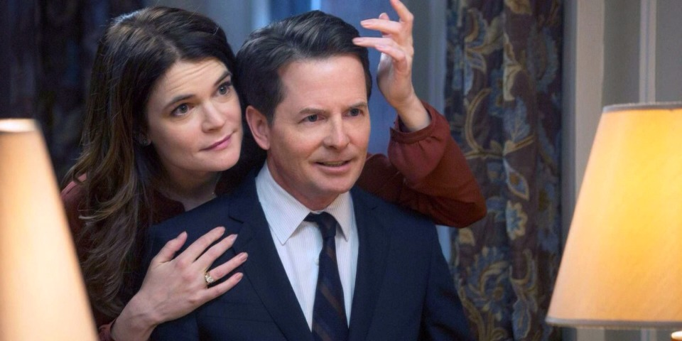 """6. """"Michael J. Fox Show"""" (NBC)  What it's about: A New York City reporter (Michael J. Fox) juggles a family with a career while battling Parkinson's disease."""