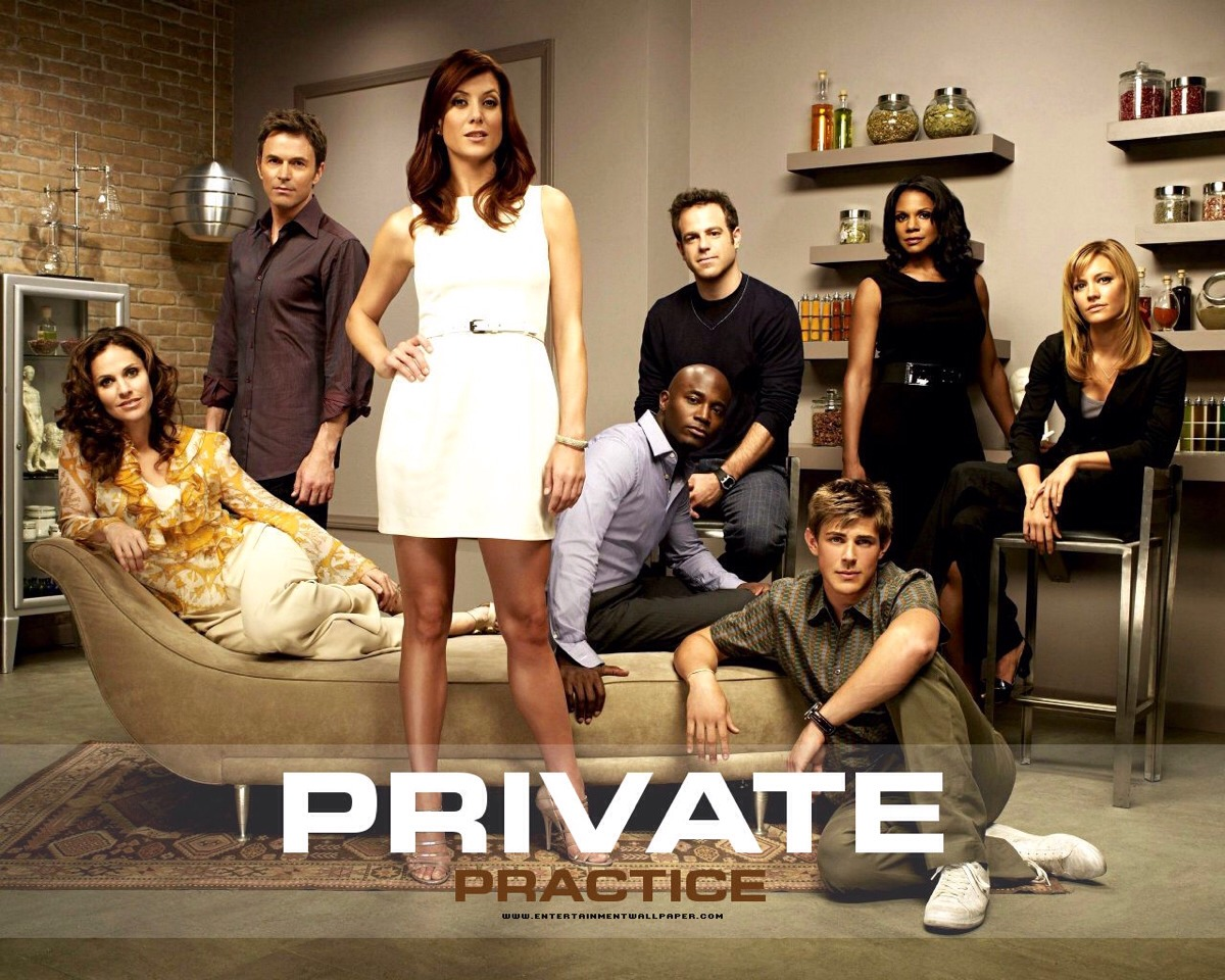 Private practice is a knock off of greys anatomy, but is just as addicting