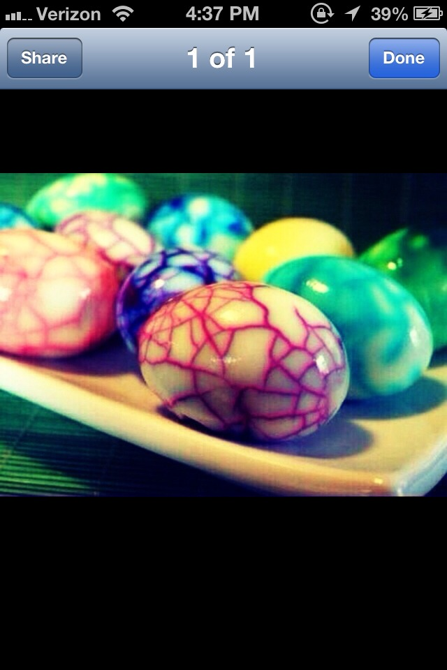 Boil eggs, let them cool then crack them, boil again in colored water! Like and follow me please? I follow everyone back!