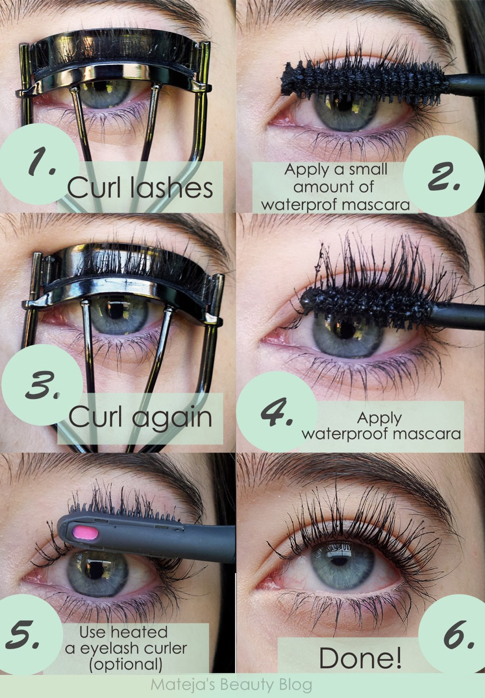 How to Curl Your Eyelashes photo