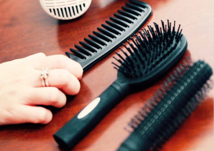 First your going to brush your hair out and make sure it is completely tangle free(this is going to help with the twisting part).Next your going to separate your hair into different sections.How many will depend on the thickness of your hair, about 4 to 6 parts.