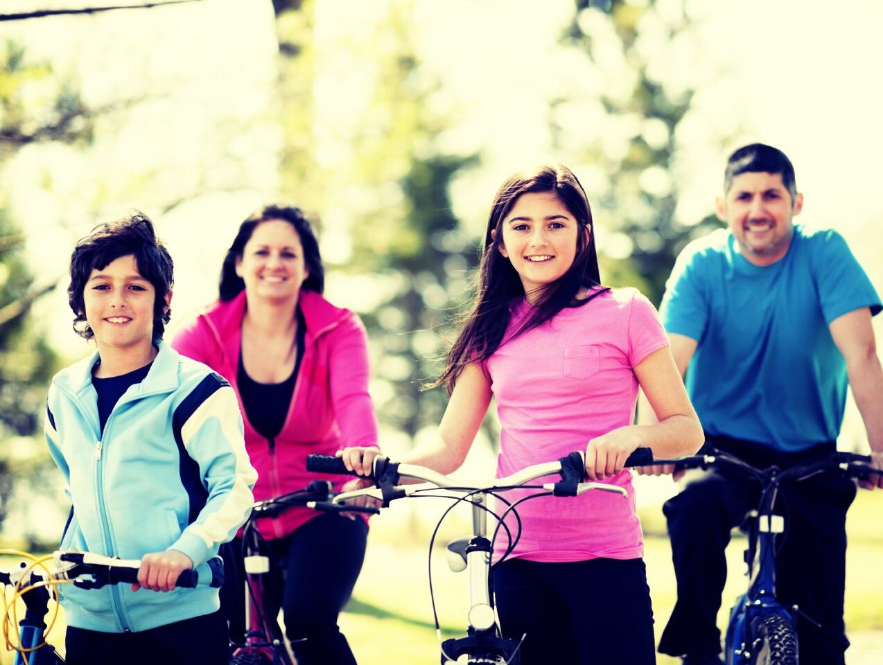 Go biking together