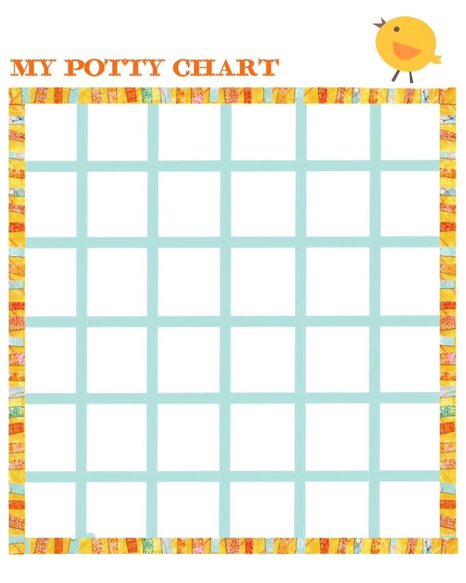 Having trouble potty training? It's simple use a potty training chart! They get a sticker for every time they go to the bathroom and once they fill in the whole chart they get a prize:) they'll love it!