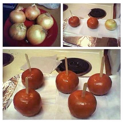 Onion Carmel Apple