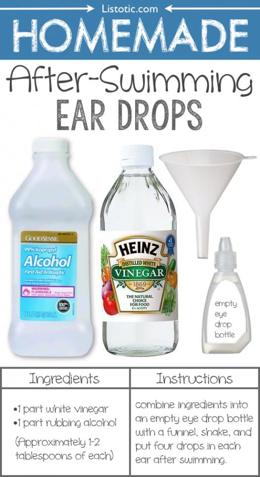 9. Homemade Ear Drops