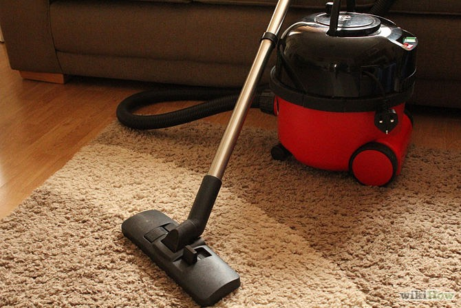 Use high-efficiency filter bags in your vacuum cleaner, and vacuum frequently, especially in rooms where you lounge (like your living room).