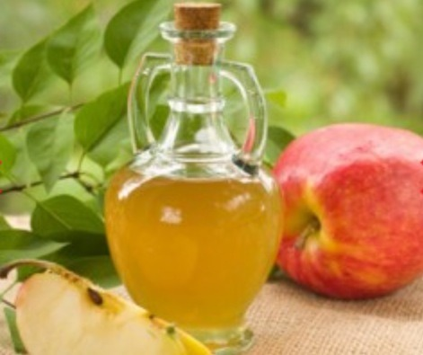 After you wash your face, mix 1 tablespoon apple cider vinegar with 2 cups water as a finishing rinse to cleanse and tighten your skin.