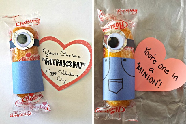You're One in a Minion: This is the perfect Valentine's Day card for your little Minion. We can promise that they will be the talk of the class; so adorable!
